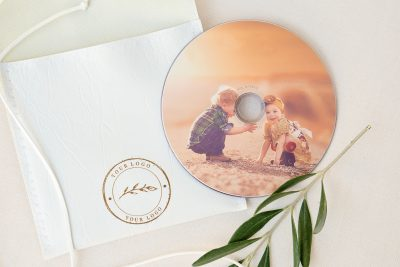 packaging photographers printed cd
